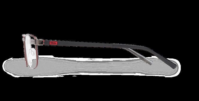 Lunettes de vue homme ALPHA19 gris - Vue de côté