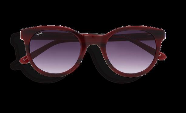 Lunettes de soleil femme ARIANA rouge - danio.store.product.image_view_face