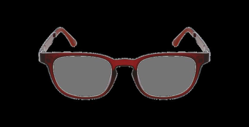 Lunettes de vue homme MAGIC 33 BLUEBLOCK rouge - Vue de face