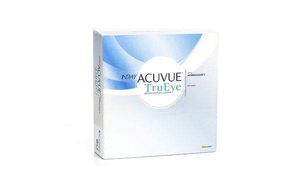 Lentilles de contact 1 Day Acuvue® TruEye 180L - Vue de face