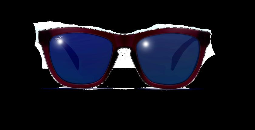 Lunettes de soleil enfant ZAMORA violet - Vue de face
