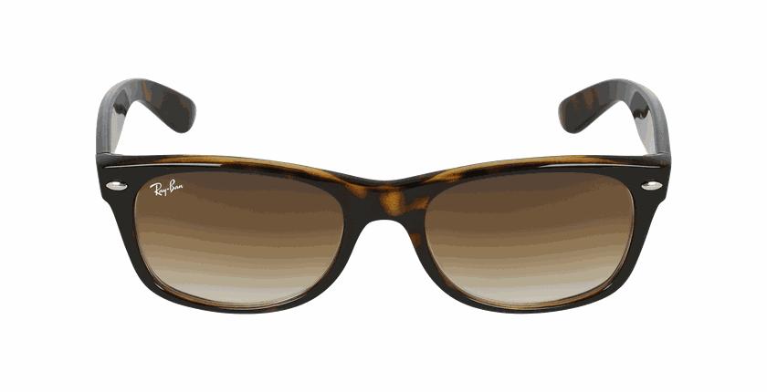 Lunettes de soleil homme NEW WAYFARER écaille - Vue de face
