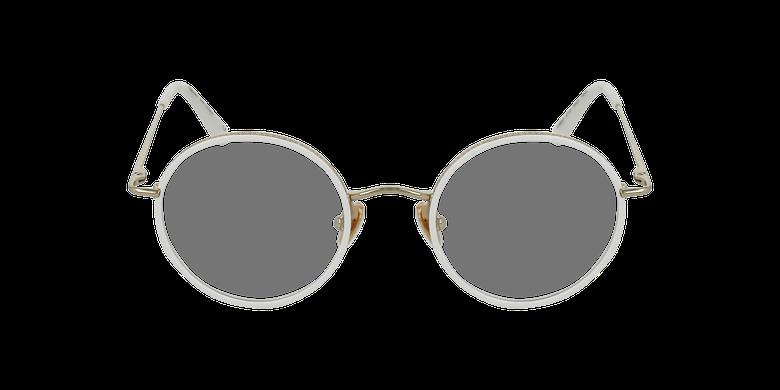 Lunettes de vue CHOPIN doré/blanc