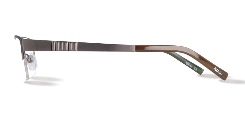 Lunettes de vue homme AFFLELOU COUTURE marron - Vue de côté