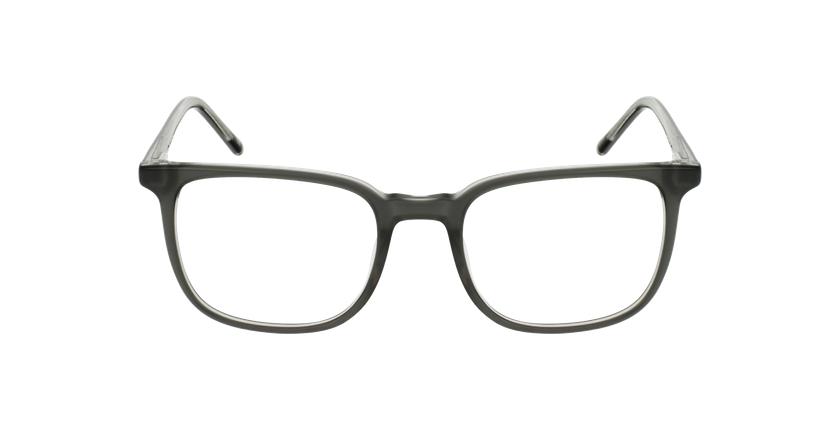 Lunettes de vue GASPARD gris - Vue de face