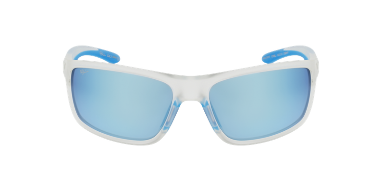 Lunettes de soleil homme IGOR POLARIZED blanc/bleu