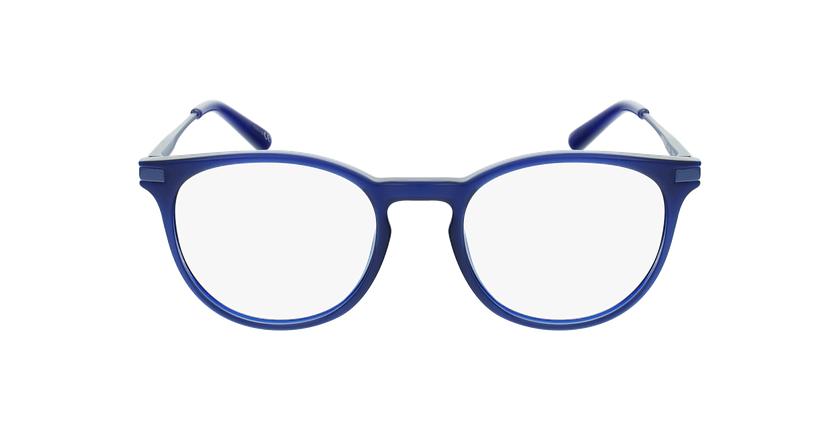 Lunettes de vue enfant ANTONIN bleu - Vue de face