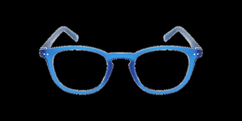 Lunettes de vue FORTY anti-lumière bleue Bleue bleu/bleuVue de face