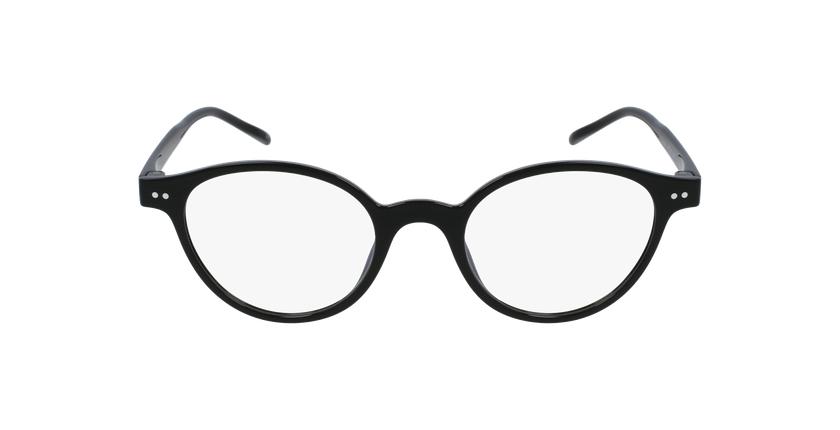Lunettes de vue femme MAGIC 49 noir - Vue de face
