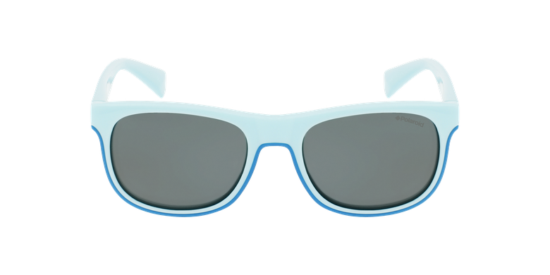 Lunettes de soleil enfant PLD 8035/S turquoiseVue de face