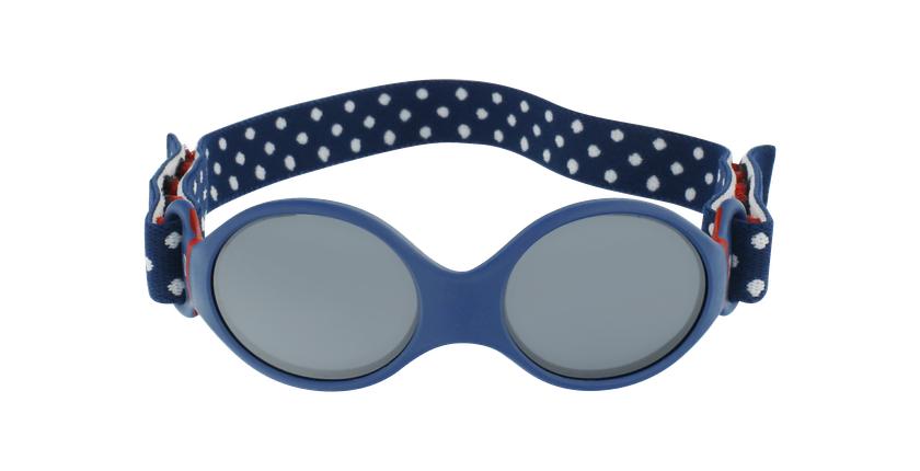 Lunettes de soleil enfant LOOP S bleu - Vue de face