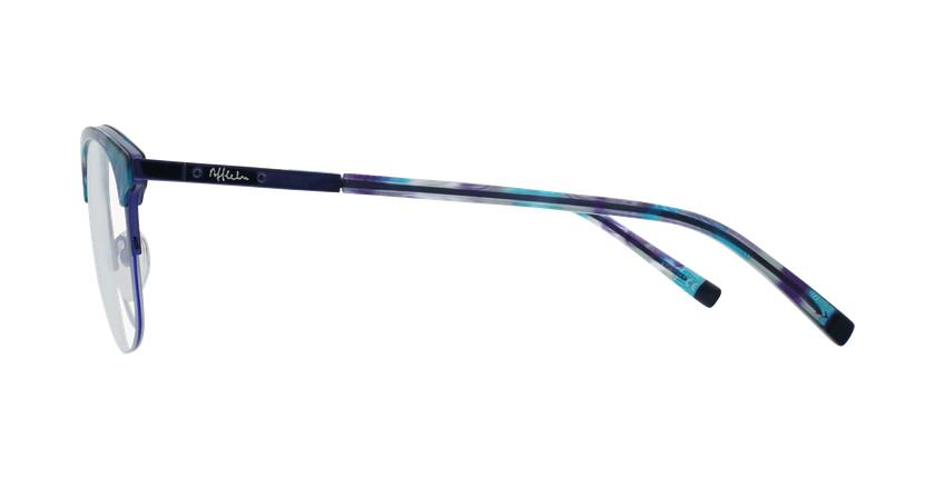 Lunettes de vue BEKSINSKI violet - Vue de côté
