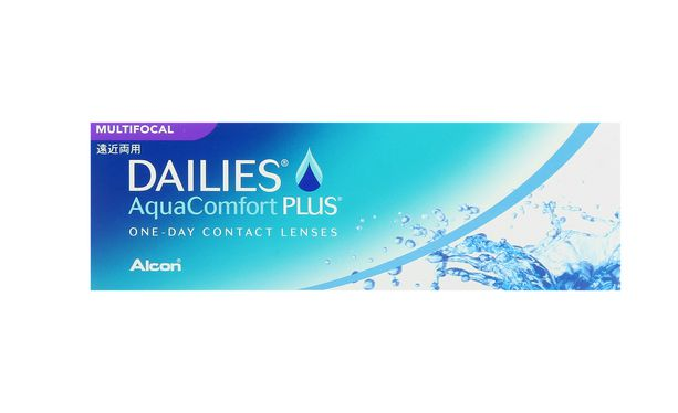 Lentilles de contact Dailies AquaComfort Plus Multifocal - Vue de face