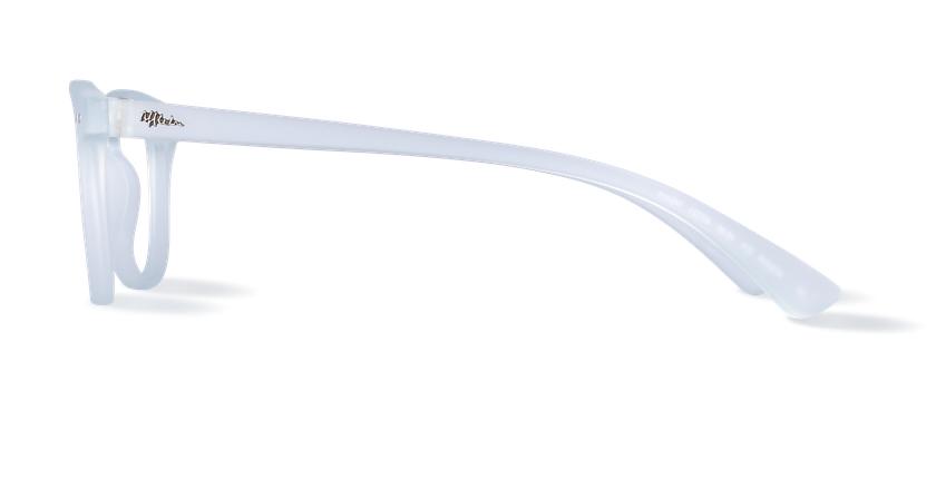 Lunettes de vue BLUE BLOCK MIXTE cristal - Vue de côté