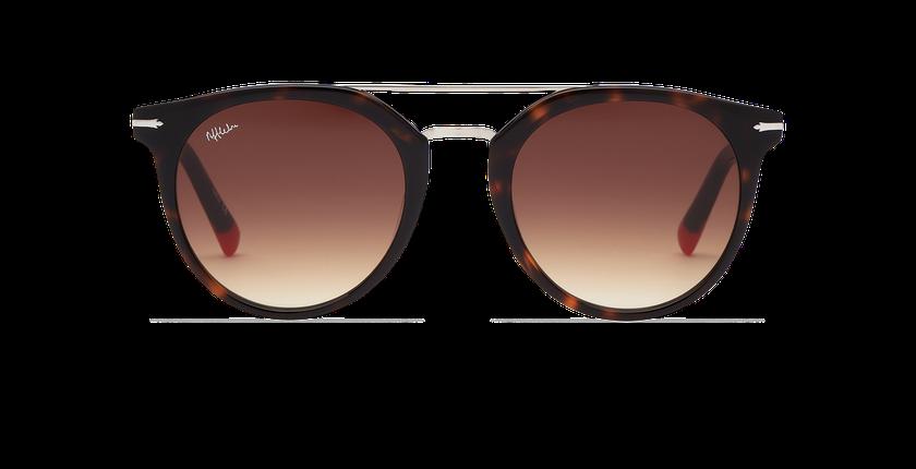 Lunettes de soleil homme BOWEN écaille/marron - Vue de face