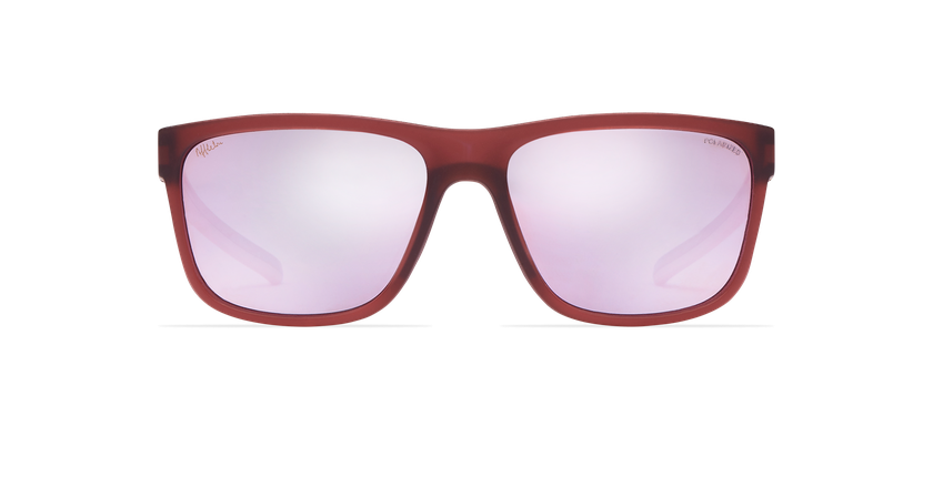 Lunettes de soleil femme WAYNE rose - Vue de face