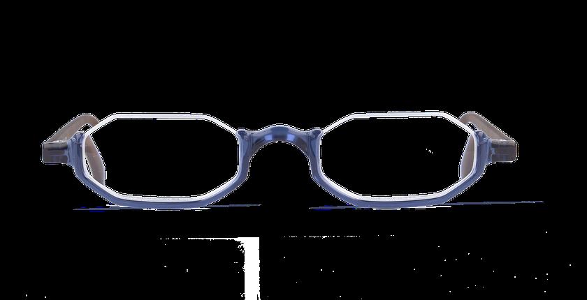 Lunettes de vue FT1 bleu/écaille - Vue de face