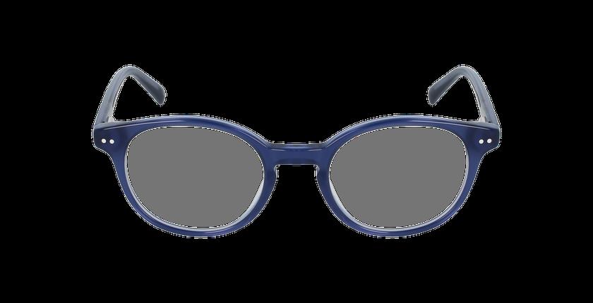 Lunettes de vue enfant CHRIS bleu - Vue de face