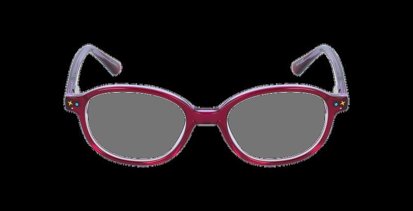 Lunettes de vue enfant PAPUCHE violet - Vue de face