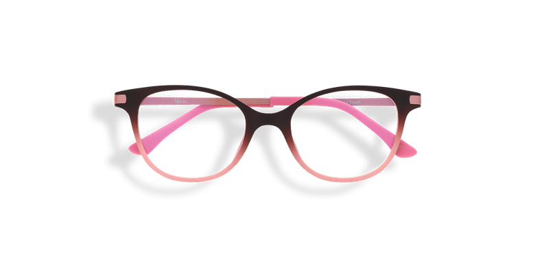 Lunettes de vue enfant MAGIC 31 BLUEBLOCK marron/rose