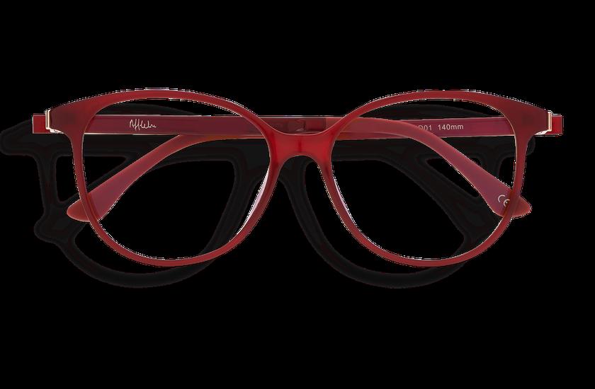 Lunettes de vue femme MAGIC 29 BLUEBLOCK rouge - danio.store.product.image_view_face