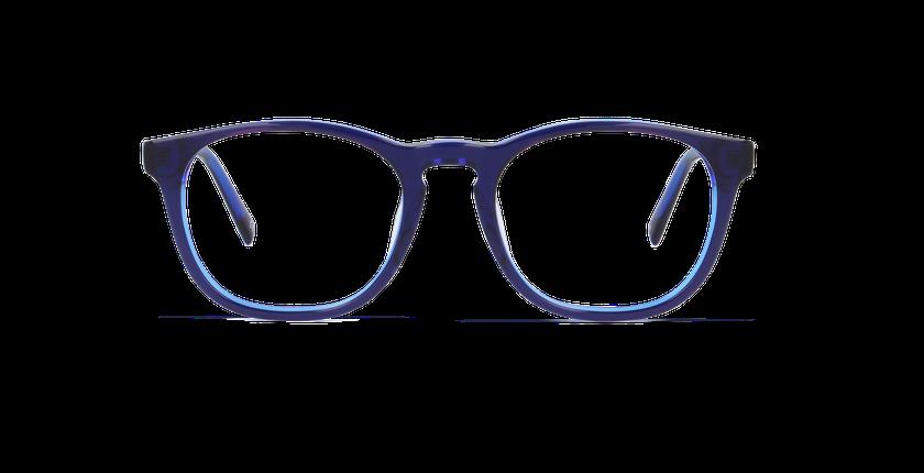Lunettes de vue homme ORLAN bleu - Vue de face