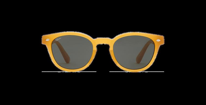 Lunettes de soleil ISOBA jaune - Vue de face