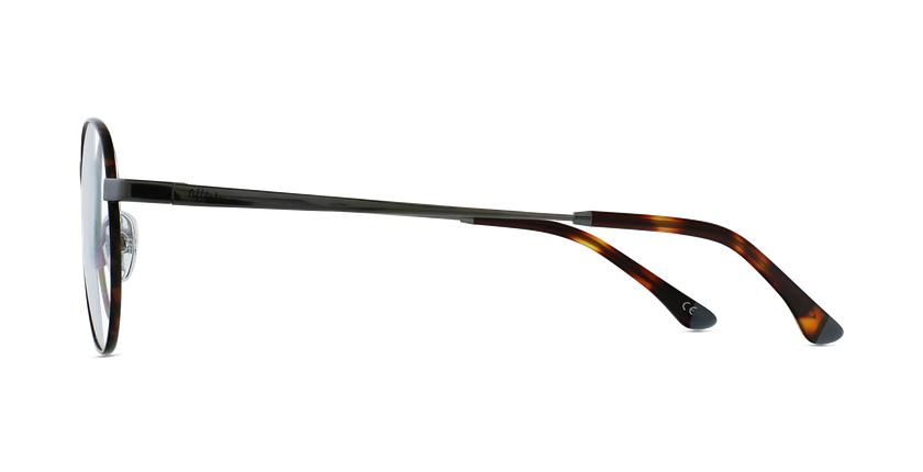 Lunettes de vue MAGIC 70 écaille/argenté - Vue de côté