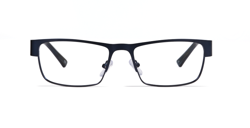 Lunettes de vue homme ALLAN bleu - Vue de face