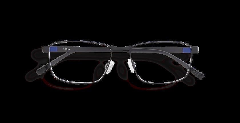 Lunettes de vue homme ALPHA19 noir - Vue de face
