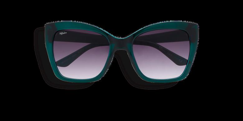 Lunettes de soleil femme LEILA turquoise