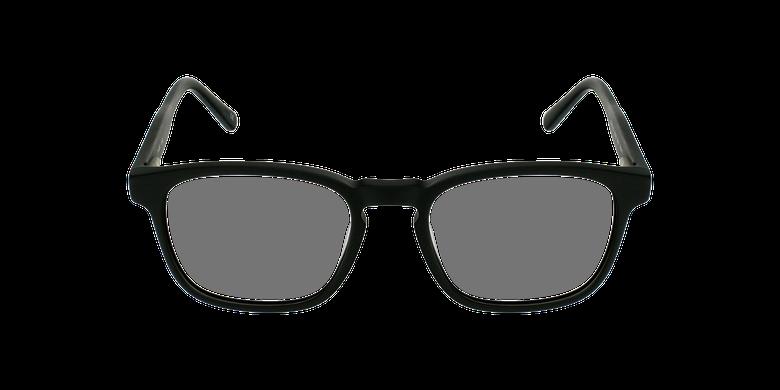 Lunettes de vue homme CLOVIS noirVue de face