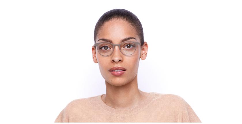 Lunettes de vue femme MAGIC 45 gris/rose - Vue de face