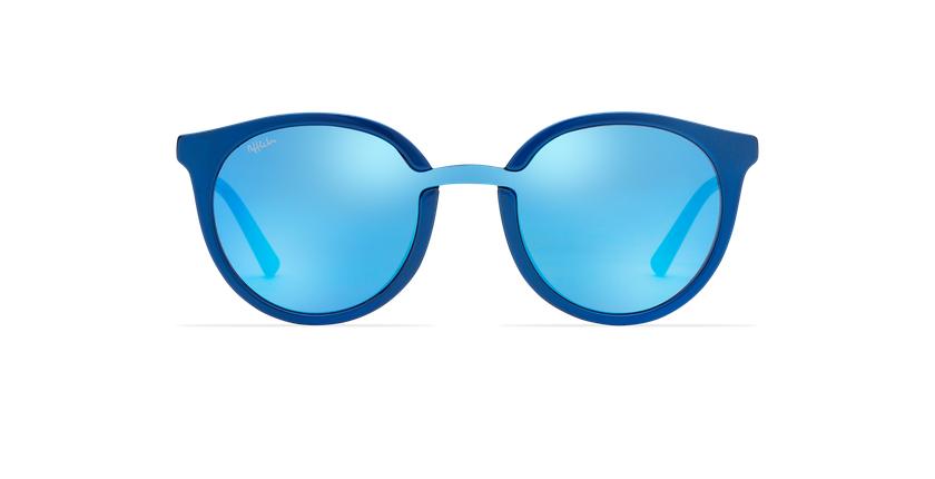 Lunettes de soleil femme DREAM bleu - Vue de face