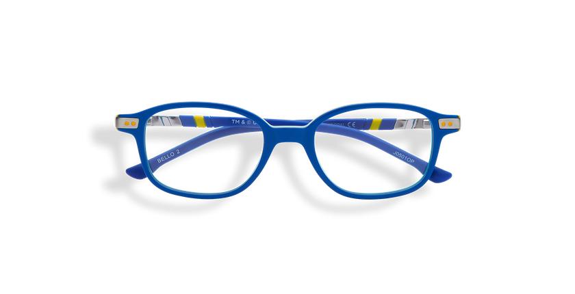Lunettes de vue enfant BELLO2 bleu - Vue de face