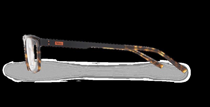 Lunettes de vue homme ALPHA11 écaille - Vue de côté