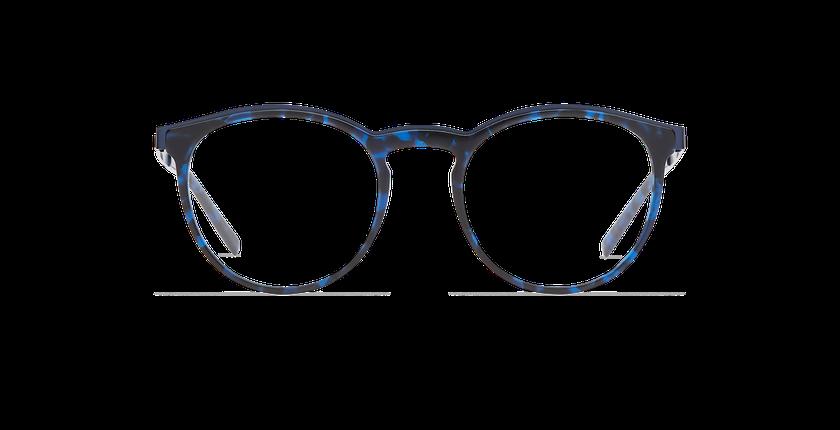Lunettes de vue homme ALPHA13 bleu - Vue de face