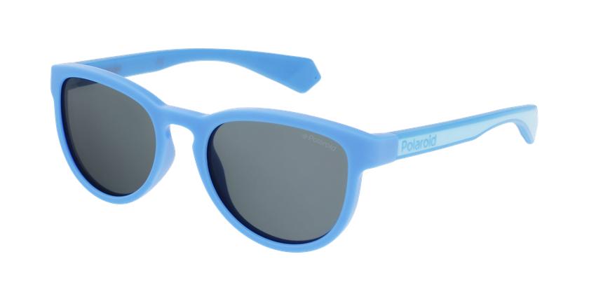 Lunettes de soleil enfant PLD 8030/S bleu - vue de 3/4