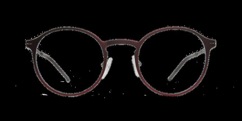 Lunettes de vue homme AZOTE rouge/gris