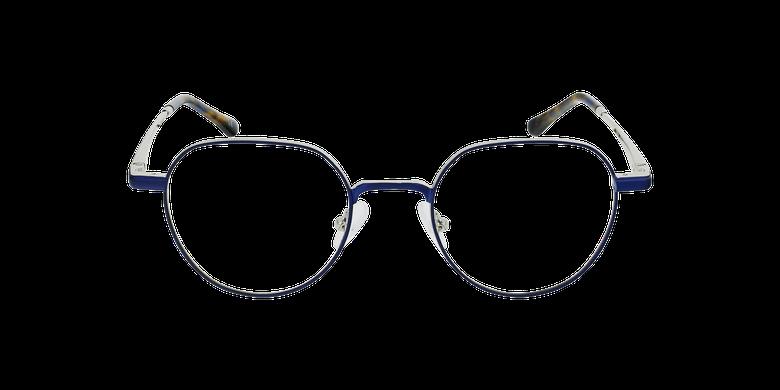 Lunettes de vue MAGIC 95 bleu/argentéVue de face