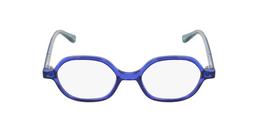 Lunettes de vue enfant RZERO20 bleu - Vue de face