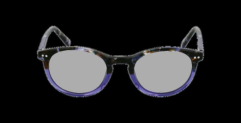 Lunettes de vue VIVALDI violet - Vue de face