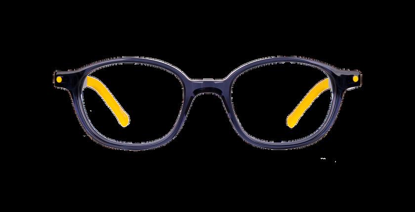 Lunettes de vue enfant CARL1 bleu - Vue de face