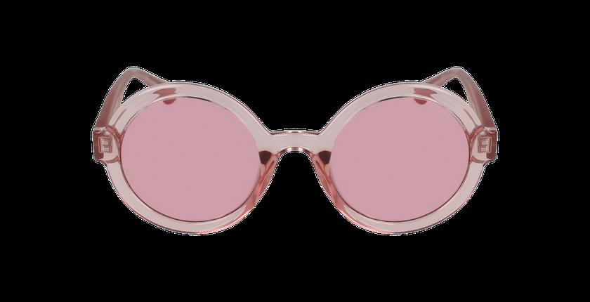 Lunettes de soleil femme GU7613 rose - Vue de face