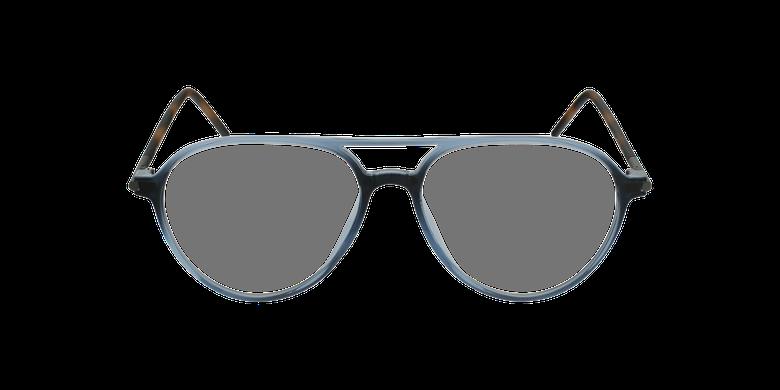 Lunettes de vue MAGIC 75 bleu/écailleVue de face