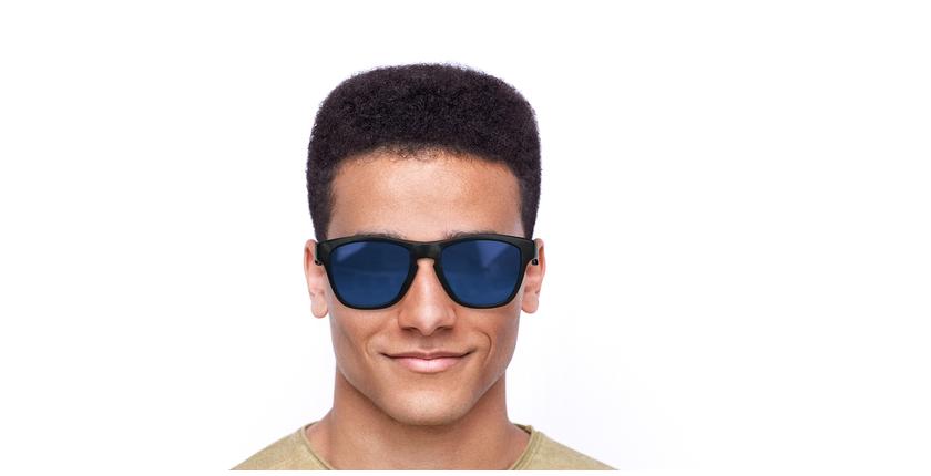 Lunettes de soleil homme GEANT écaille/bleu - Vue de face