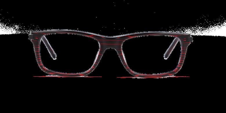 Lunettes de vue homme ORSAY rouge