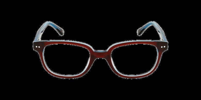 Lunettes de vue enfant MARCEL rouge/bleu