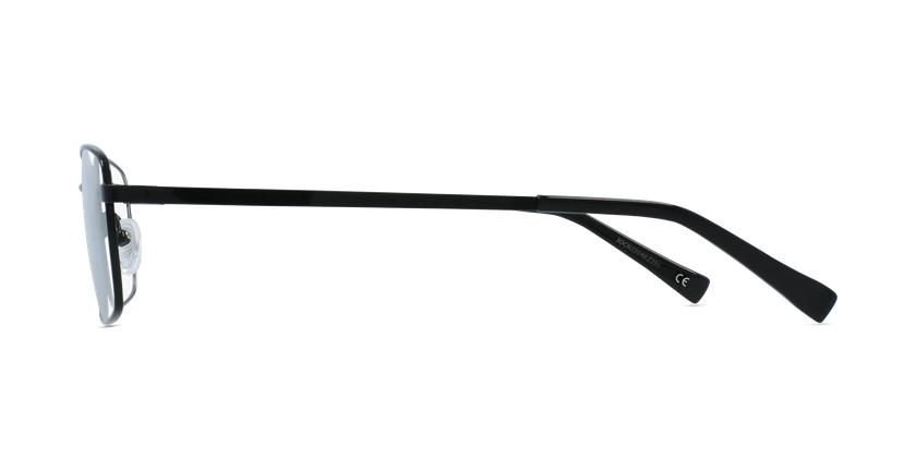 Lunettes de vue homme RZERO16 noir - Vue de côté