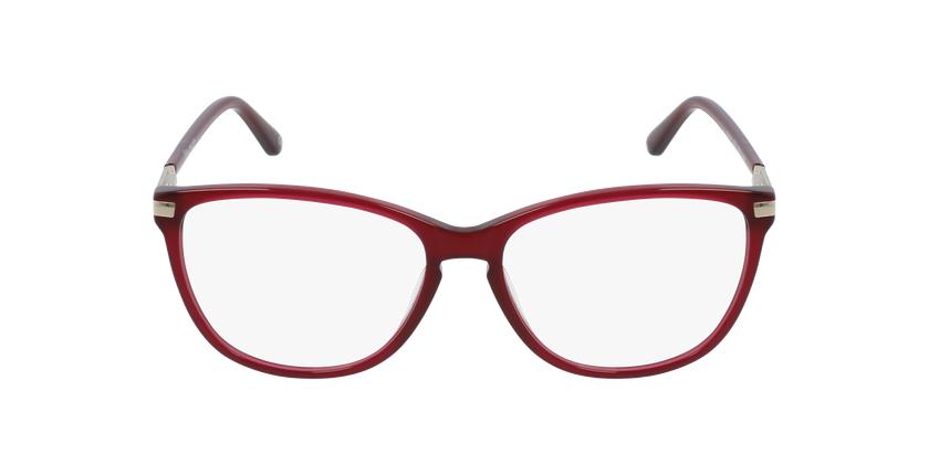 Lunettes de vue femme OAF20520 rouge - Vue de face